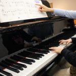 ヤマハのグランドピアノがあるピアノ教室