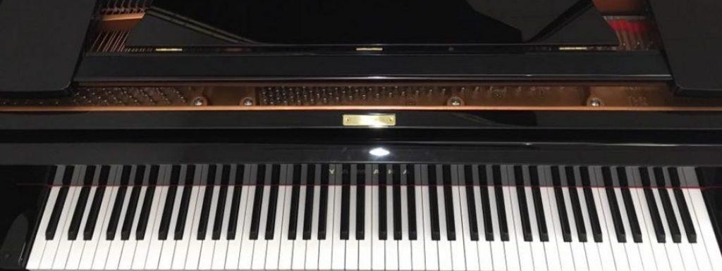 ヤマハのグランドピアノ